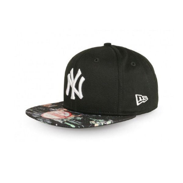 NEW ERA KACKET OFFSHORE VISOR MLB NEYYAN BLKBLK