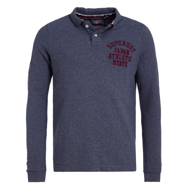 SUPERDRY SUPER STATE L/S POLO