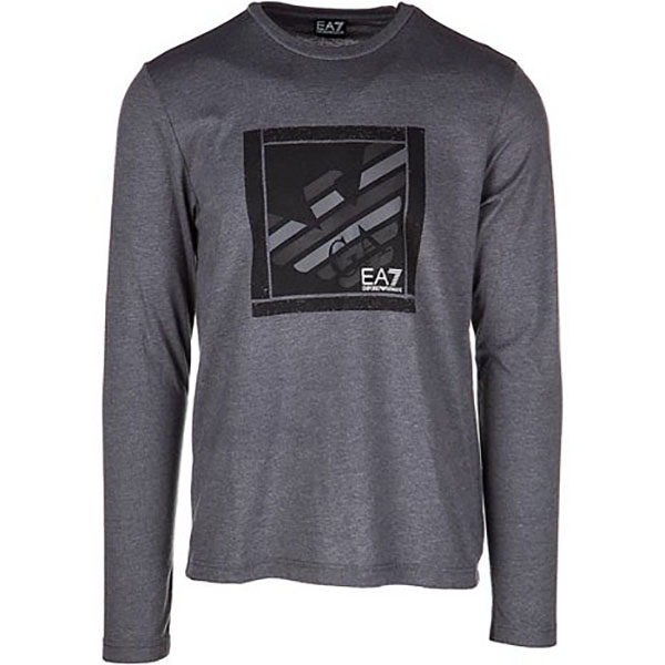 EMPORIO ARMANI LFS MAJICA TRAIN GRAPHIC SERIES M TEE EAGLE LS 4