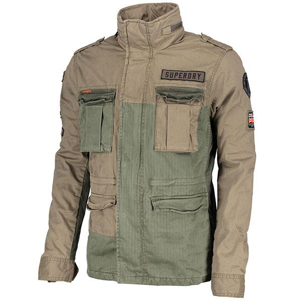 SUPERDRY LFS JAKNA ROOKIE MIXED MILITARY JACKET