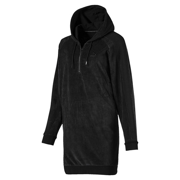 Puma LFS HALJINA PUMA DOWNTOWN HOODED DRESS