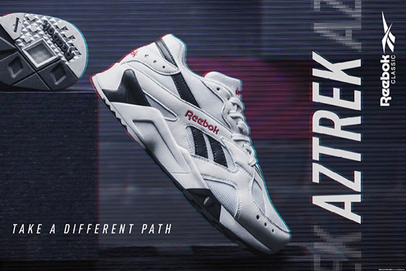 the spot Reebok Aztrek